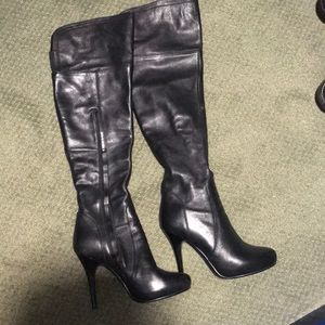 Over the knee boots size 36